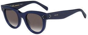 Asstd National Brand CŽline Sunglasses - 41053/S / Frame: Blue Lens: Brown Gradient