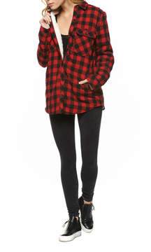 Dex Sherpa Lined Plaid Jacket