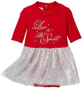 Iris & Ivy Sparkle Tutu Bodysuit (Baby Girls)
