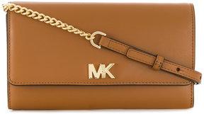 Michael Kors wallet clutch and shoulder bag - BROWN - STYLE