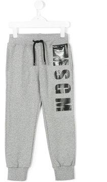 MSGM logo print sweatpants