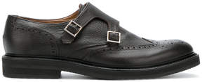 Eleventy buckled monk shoes