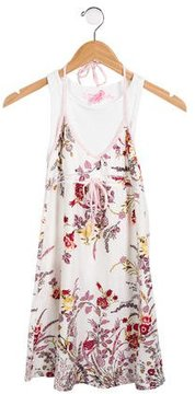 Roberto Cavalli Girls' Sleeveless Dress