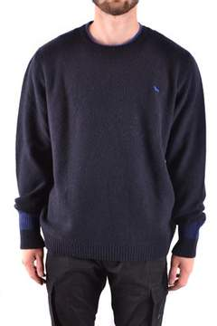 Harmont & Blaine Men's Blue Wool Sweater.