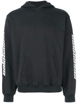 Yeezy Men's Blue/grey Cotton Sweatshirt.