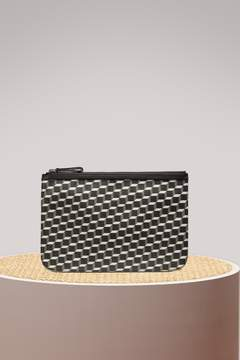 Pierre Hardy Canvas Cube Pouch