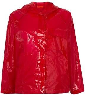 Aspesi translucent rain jacket