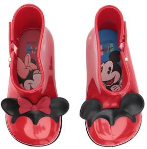 Mini Melissa Mini Sugar Rain + Disney Twins Girl's Shoes