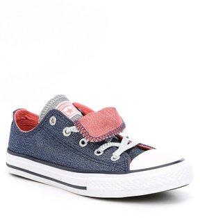 Converse Girls Chuck Taylor All-Star Double Tongue Sneakers