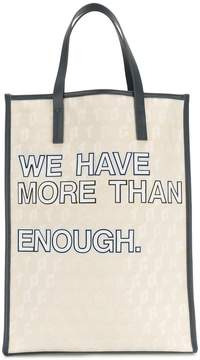 Corto Moltedo We Have More Than Enough shopper