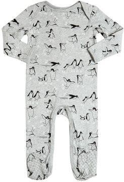 Stella McCartney Penguins Organic Cotton Jersey Romper
