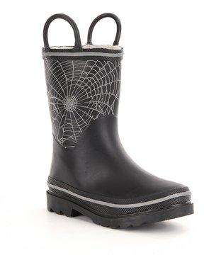 Western Chief Boys Bright Web Reflective Rain Boots