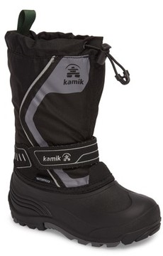 Kamik Boy's Snowcoast3 Waterproof Snow Boot
