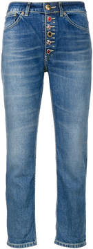 Dondup embellished button jeans