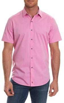 Robert Graham Men's Clemens Short Sleeve Sport Shirt