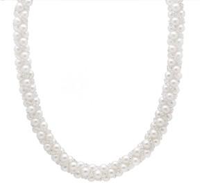 Bella Pearl Multi-Row Pearl Necklace