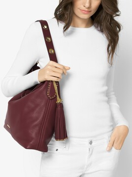 MICHAEL Michael Kors Brooklyn Large Leather Shoulder Bag