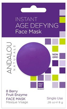 Andalou Naturals Instant Age Defying Mask - Berry - 1ct