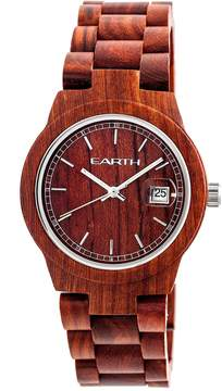 Earth Biscayne Red Dial Watch