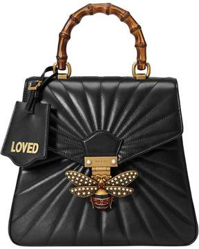 Gucci Queen Margaret quilted leather backpack - BLACK - STYLE