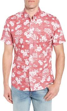 1901 Trim Fit Island Print Sport Shirt