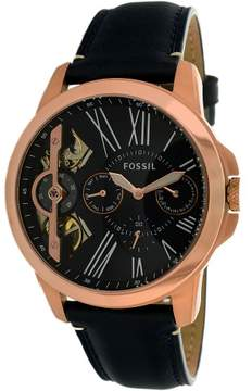 Fossil Grant Automatic Leather Mens Watch ME1162