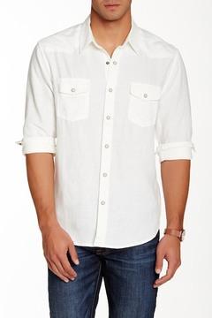 Lucky Brand Long Sleeve Linen Shirt