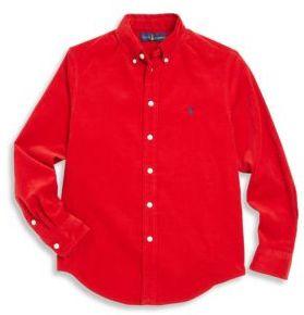 Ralph Lauren Toddler's, Little Boy's & Boy's Corduroy Shirt
