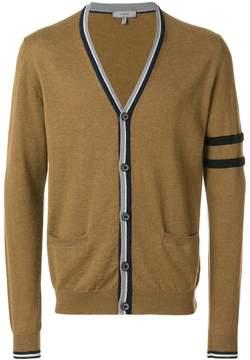 Lanvin contrast stripe-trimmed cardigan