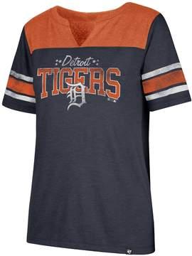 '47 Women's Detroit Tigers Match Tri-Blend Tee