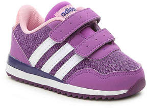 adidas Girls NEO V Jog Infant & Toddler Sneaker