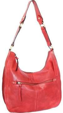 Nino Bossi Delina Leather Hobo Handbag (Women's)