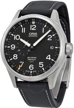 Oris Big Crown ProPilot GMT Automatic Black Dial Men's Watch 748-7710-4164LS