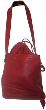 Tila March Red Leather Handbag