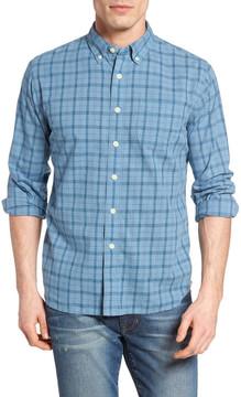 Grayers Bluestone Plaid Poplin Sport Shirt