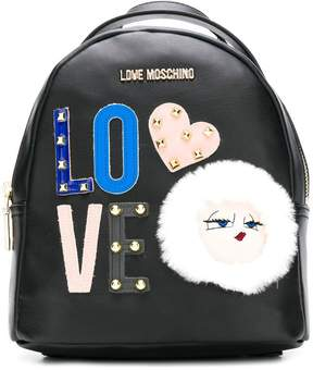 Love Moschino small Love backpack