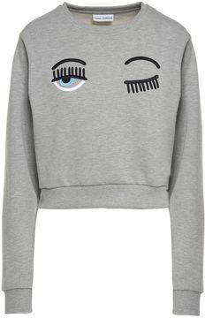 Chiara Ferragni Flirting Eye Cotton-blend Sweatshirt