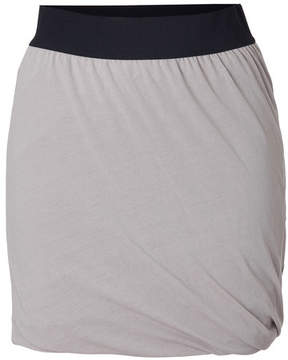 American Vintage Cotton Twisted Drape Mini-Skirt