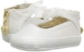 Stuart Weitzman Baby Nantucket Bow Girl's Shoes