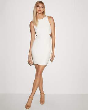 Express Side Cut-Out Sheath Dress