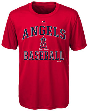 Majestic Los Angeles Angels of Anaheim City Wide T-Shirt, Big Boys (8-20)