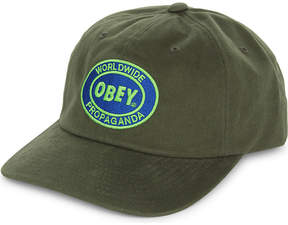 Obey Vision six panel cotton snapback cap