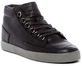 Blackstone Genuine Shearling Lined Mid Top Sneaker