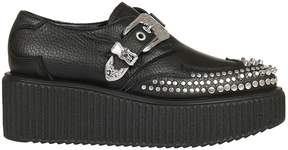 McQ Alexander Ueen Nevada Creeper Platform Slip-on Sneakers