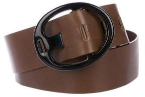Marni Leather Buckle Belt
