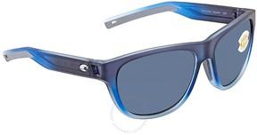 Costa del Mar Bayside Grey 580P Sport Sunglasses BAY 193 OGP