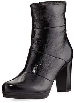 La Canadienne Mirabella Patent Leather Bootie