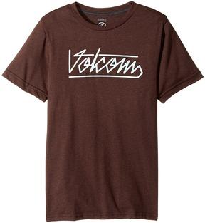 Volcom Flowscript Short Sleeve Tee Boy's T Shirt