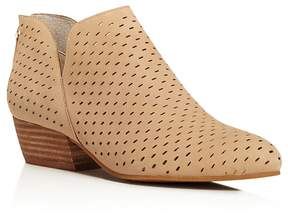 Kenneth Cole Women's Cooper Perforated Nubuck Leather Booties