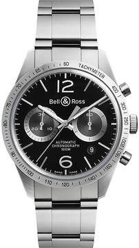 Bell & Ross BR V1-26 Vintage stainless steel watch